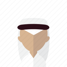 arabic, avatar, hijab, islam, men, turban icon
