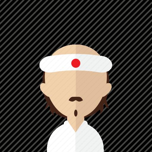 avatar, chef, japan, japanese, men, nip, sushi icon