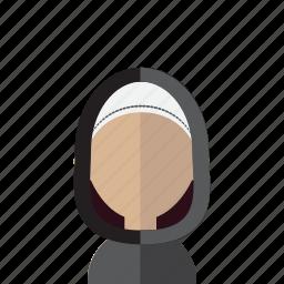 arabic, avatar, hijab, islam, women icon