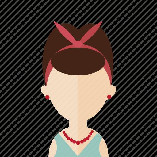 avatar, girl, photo, pinup, portrait, women icon