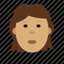 face, female icon