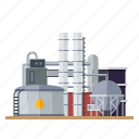 building, industrial, industry, factory, refinery, oil, tanks