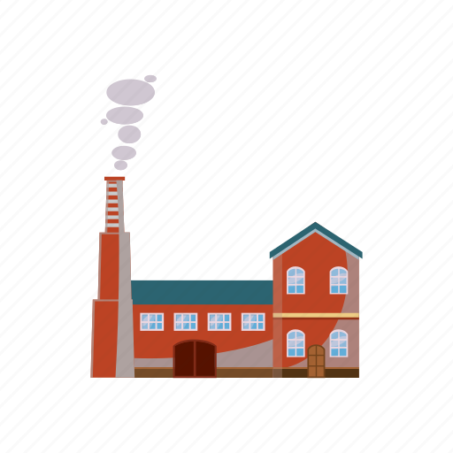 cartoon, energy, fuel, industry, pipe, plant, refinery icon