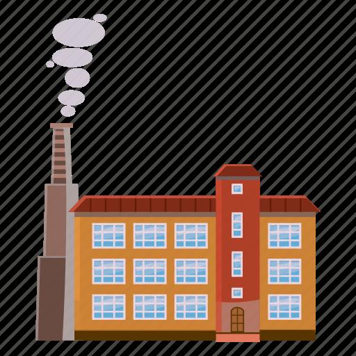 cartoon, energy, factory, fuel, industry, pipe, refinery icon