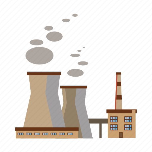 cartoon, industrial, industry, pipe, pipes, plant, refinery icon
