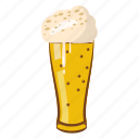 beer, beverage, cartoon, cold, drink, glass, oktoberfest icon