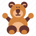 animal, bear, stuffed, teddy, toy