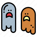 ghost, halloween, paranormal, spooky icon