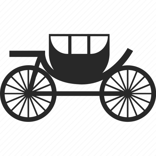 carriage, fairy tale, transportation, vehicle icon