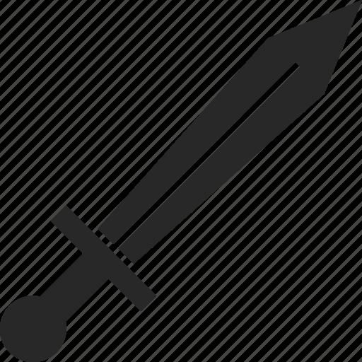 cut, dagger, sword, weapon icon