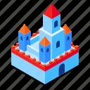 castle, fantasy, fairy, tale