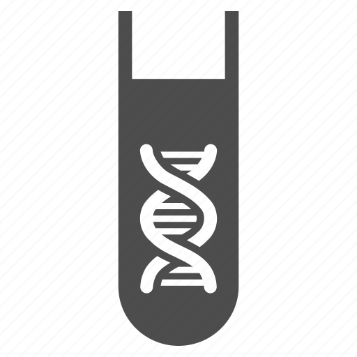 analysis, biology, dna, genetic, genetics research, science, test-tube icon