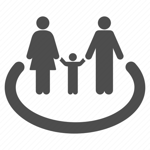area, human family, parents, people, relations, user group, users icon