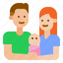 baby, family, parents icon