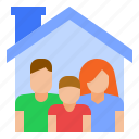 family, home, parents icon