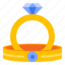 ring, wedding icon