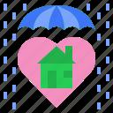 guard, home, protect, umbrella