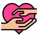 hand, love, maternity icon