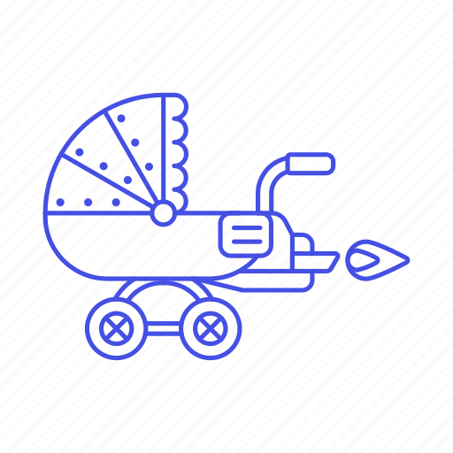 baby, carriage, family, pram, rocket, steampunk, stroller, toddler, transport, trolley icon