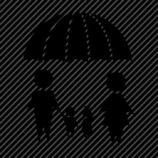 family, family insurance, family life insurance, healthcare, insurance, life insurance, umbrella icon