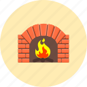 fireplace, burn, chimney, fire, flame, hot, warm