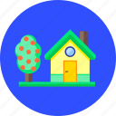 fruit tree, garden, home, house, household, nature, spring icon