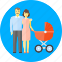 babe, baby, family, infant, kid, mother and father, newborn icon