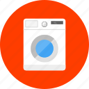 equipment, laundry, tool, tools, wash laundry, washer, washing machine icon