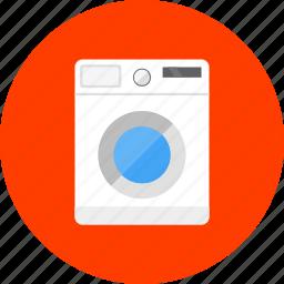 equipment, laundry, tool, tools, wash laundry, washer, washing machine icon