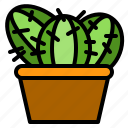 cactus, cheerful, kid, lifestyle, love, parent, together icon