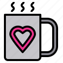 cheerful, kid, lifestyle, love, mug, parent, together icon