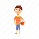 boy, cartoon, child, family, happy, kid, son icon