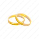 cartoon, engagement, gold, jewelry, love, ring, wedding icon