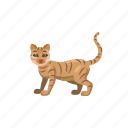 animal, cartoon, cat, cute, domestic, feline, pet icon