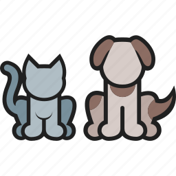 animal, cat, dog, domestic, kitty, pet, puppy icon