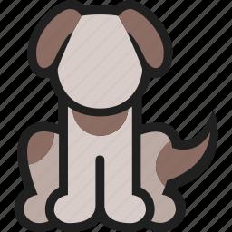 animal, dog, domestic, mammal, pet, puppy icon