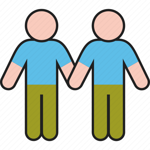 Couple, gay, gender, homosexual, male, man, same icon - Download on Iconfinder