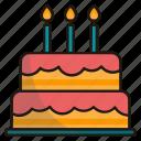 birthday, party, celebration, cake