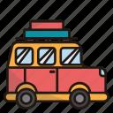 camper van, car, vehicle, transportation, transport, bus, travel