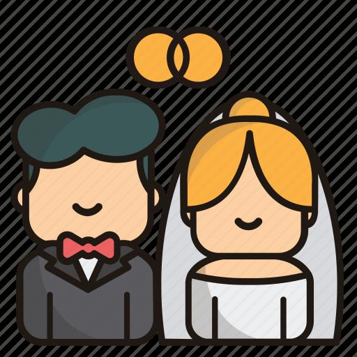 Marriage, wedding, love, celebration, valentine, romance icon - Download on Iconfinder
