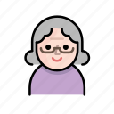 family, grandma, member, old, old people, senior, user icon