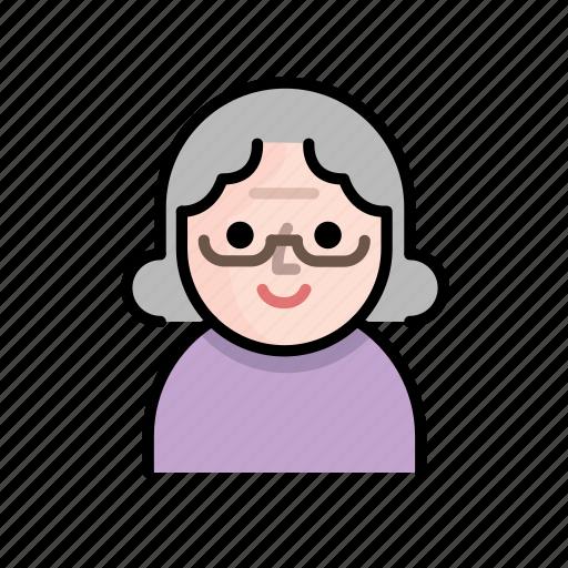 family, grandma, member, old, old people, senior, user icon