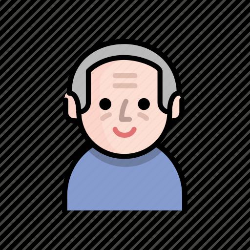 family, grandpa, member, old, old people, senior, user icon