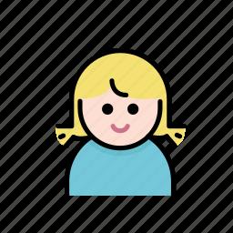 baby, child, family, girl, kids, member icon