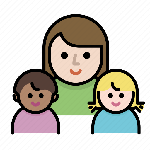 children, family, kids, member, mother, parents icon