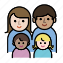 children, couple, family, human, kids, member, parents icon