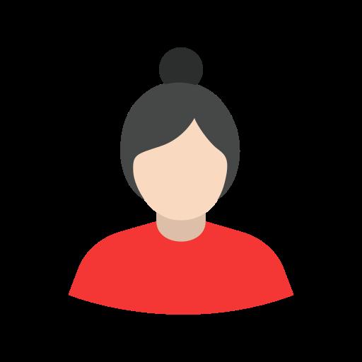 Girl, woman, lady, user icon
