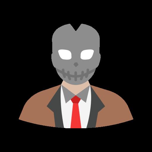 evil, halloween, hoody, villain icon