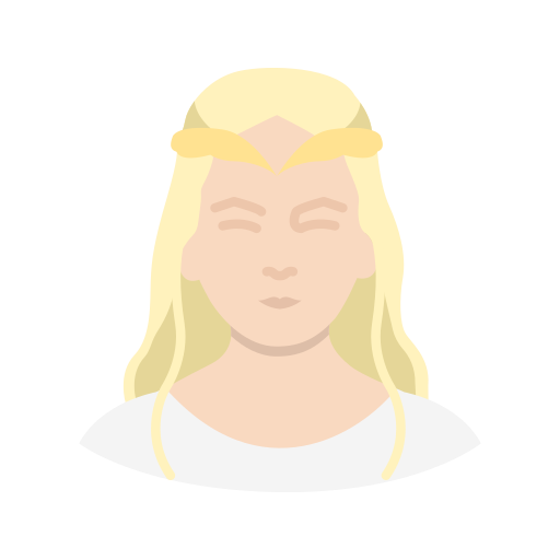 elf, lady, lord of the rings, princess icon