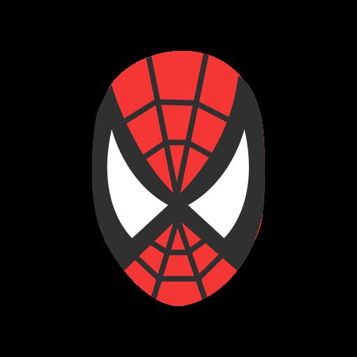 Flat Spider Man Illustration